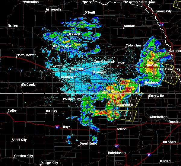 Radar Image for Severe Thunderstorms near Gilead, NE at 6/5/2020 12:05 AM CDT