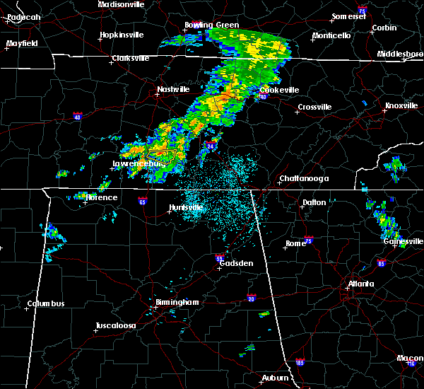 Radar Image for Severe Thunderstorms near Lewisburg, TN at 6/5/2020 12:32 AM CDT