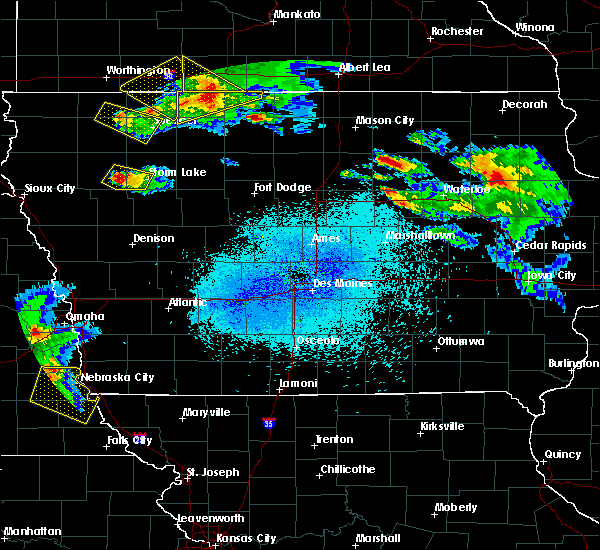 Radar Image for Severe Thunderstorms near Rodman, IA at 6/5/2020 12:33 AM CDT