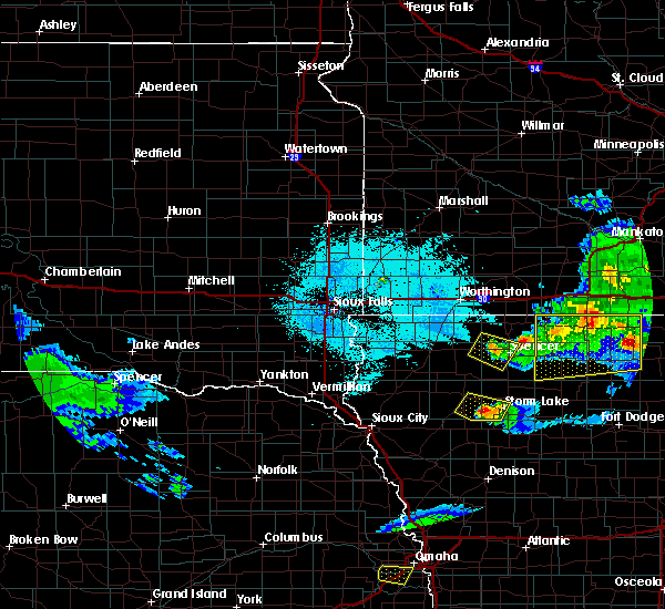 Radar Image for Severe Thunderstorms near Alta, IA at 6/5/2020 12:44 AM CDT