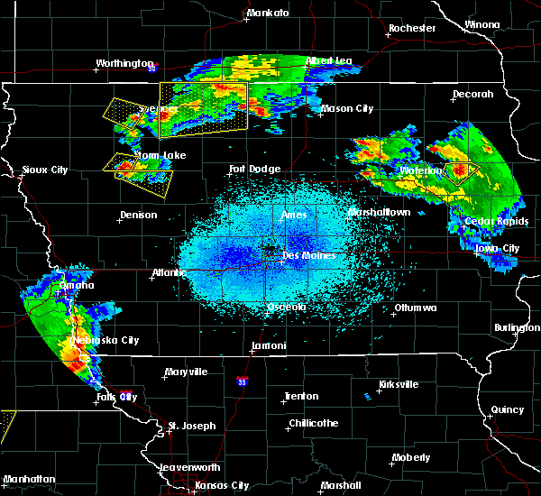 Radar Image for Severe Thunderstorms near Rodman, IA at 6/5/2020 1:01 AM CDT