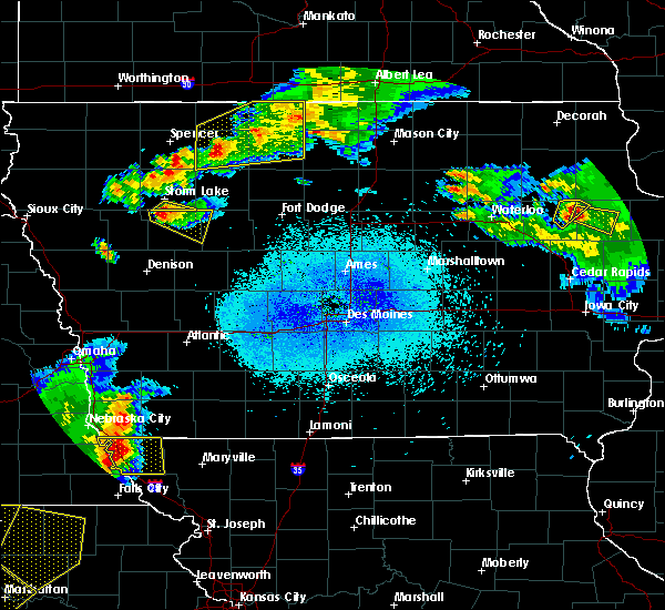 Radar Image for Severe Thunderstorms near Rodman, IA at 6/5/2020 1:18 AM CDT