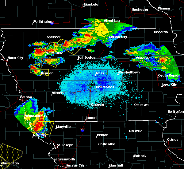 Radar Image for Severe Thunderstorms near Rolfe, IA at 6/5/2020 1:36 AM CDT