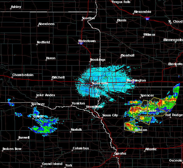 Radar Image for Severe Thunderstorms near Larrabee, IA at 6/5/2020 1:41 AM CDT