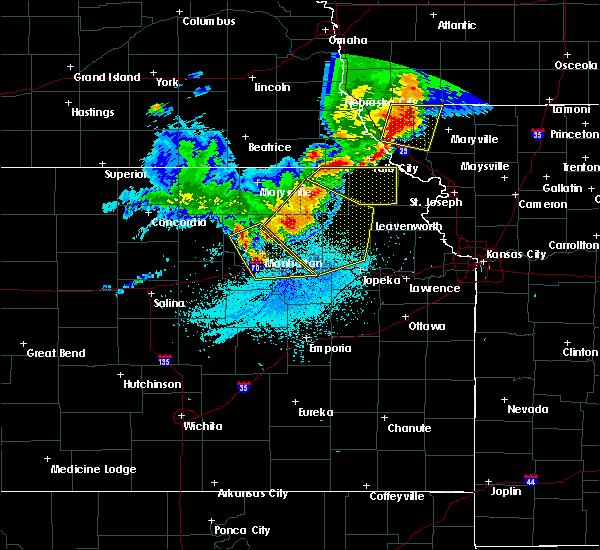 Radar Image for Severe Thunderstorms near Willis, KS at 6/5/2020 1:50 AM CDT