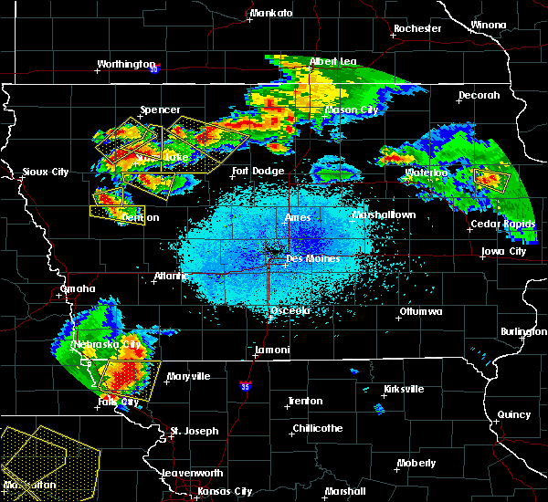 Radar Image for Severe Thunderstorms near Rodman, IA at 6/5/2020 1:51 AM CDT