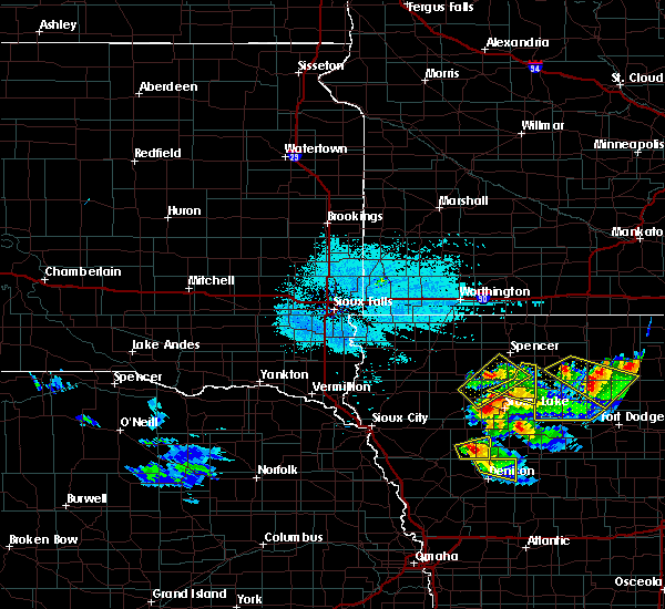 Radar Image for Severe Thunderstorms near Sioux Rapids, IA at 6/5/2020 1:54 AM CDT