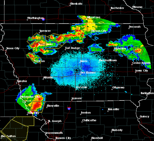 Radar Image for Severe Thunderstorms near Rolfe, IA at 6/5/2020 1:55 AM CDT