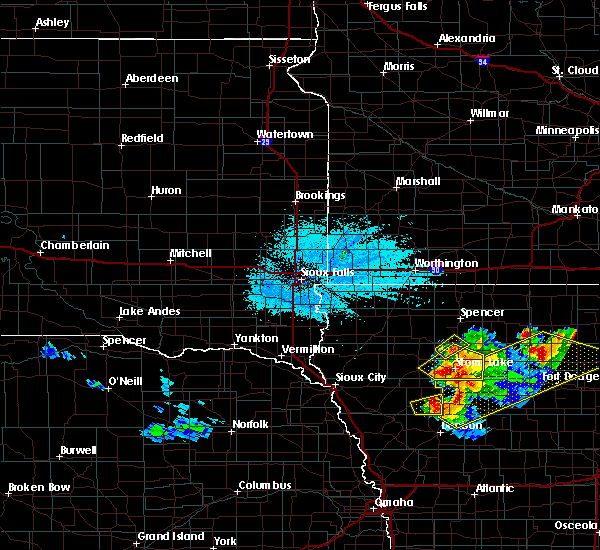 Radar Image for Severe Thunderstorms near Alta, IA at 6/5/2020 2:11 AM CDT