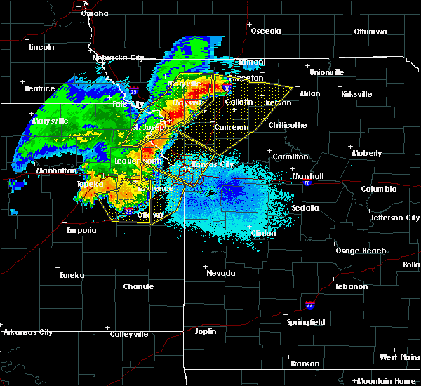 Radar Image for Severe Thunderstorms near Princeton, KS at 6/5/2020 3:20 AM CDT