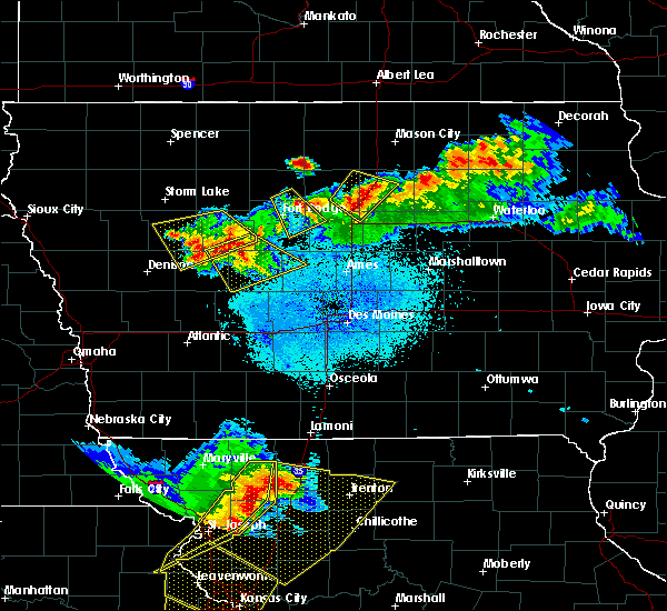 Radar Image for Severe Thunderstorms near Dows, IA at 6/5/2020 3:25 AM CDT