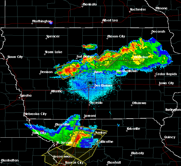 Radar Image for Severe Thunderstorms near Boxholm, IA at 6/5/2020 3:48 AM CDT