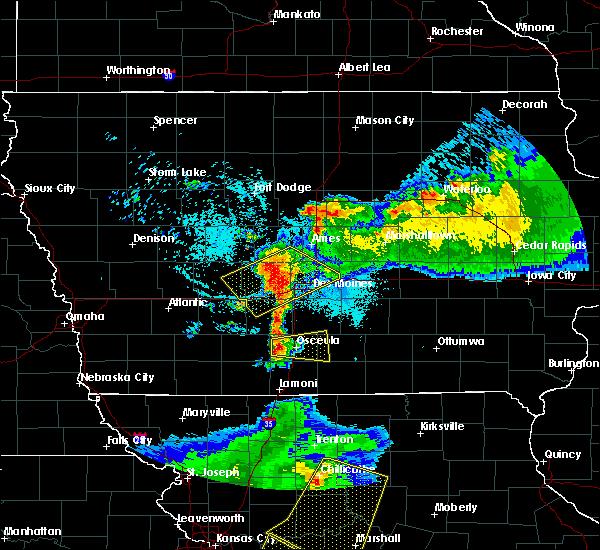 Radar Image for Severe Thunderstorms near Osceola, IA at 6/5/2020 4:38 AM CDT