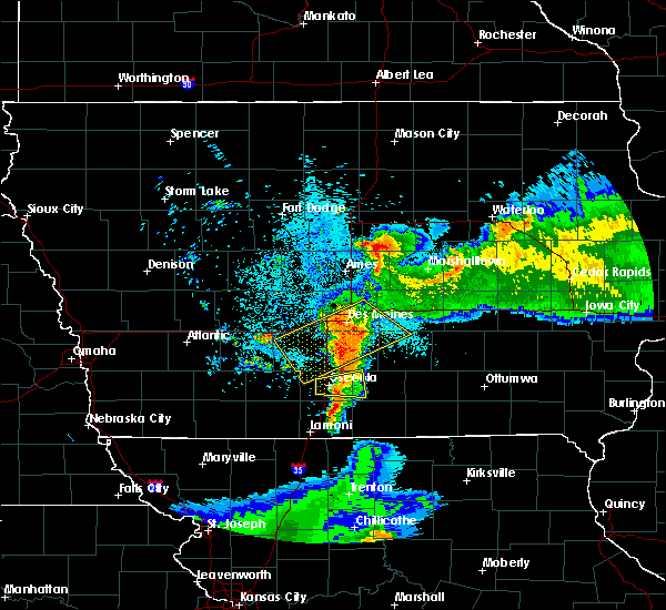 Radar Image for Severe Thunderstorms near Woodburn, IA at 6/5/2020 5:10 AM CDT