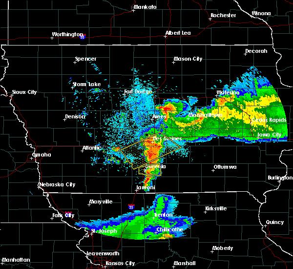 Radar Image for Severe Thunderstorms near Osceola, IA at 6/5/2020 5:10 AM CDT