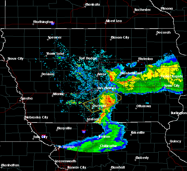 Radar Image for Severe Thunderstorms near Williamson, IA at 6/5/2020 5:37 AM CDT