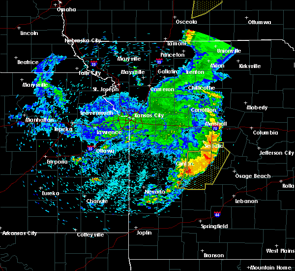Radar Image for Severe Thunderstorms near Versailles, MO at 6/5/2020 5:42 AM CDT