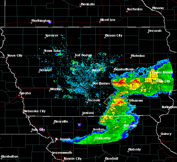 Radar Image for Severe Thunderstorms near Albia, IA at 6/5/2020 6:21 AM CDT