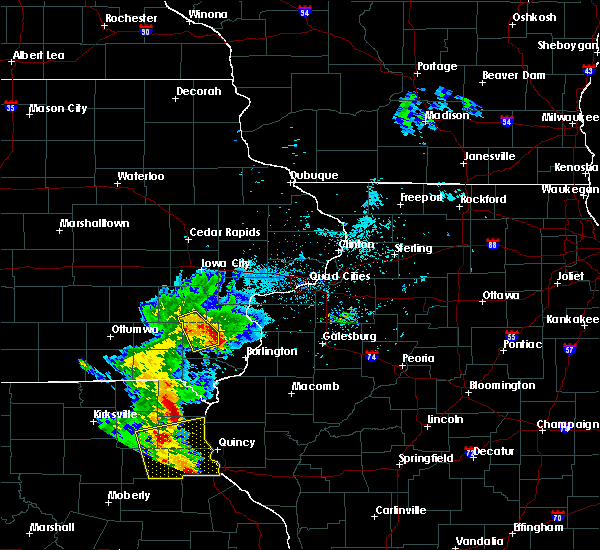Radar Image for Severe Thunderstorms near Mediapolis, IA at 6/5/2020 7:46 AM CDT