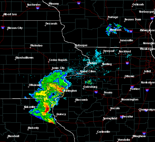 Radar Image for Severe Thunderstorms near Mediapolis, IA at 6/5/2020 8:01 AM CDT