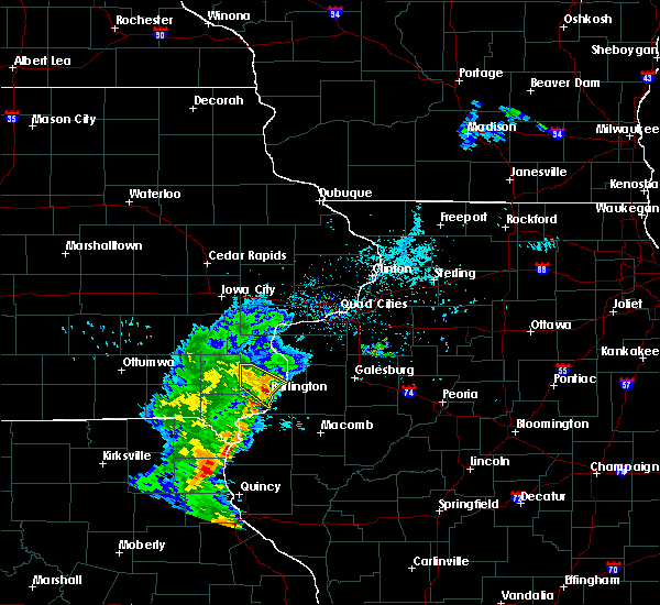 Radar Image for Severe Thunderstorms near Mediapolis, IA at 6/5/2020 8:08 AM CDT