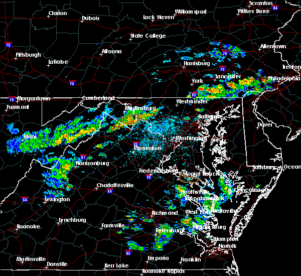 Radar Image for Severe Thunderstorms near Harpers Ferry, MD at 6/5/2020 2:38 PM EDT