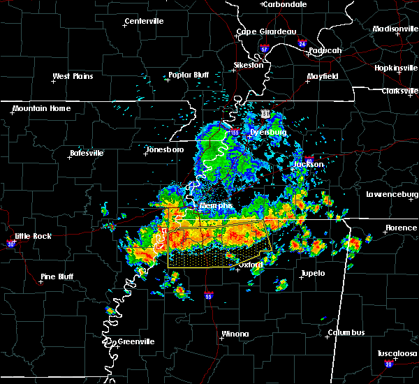 Radar Image for Severe Thunderstorms near Senatobia, MS at 6/5/2020 2:24 PM CDT
