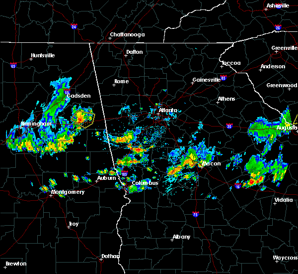 Radar Image for Severe Thunderstorms near Oxford, AL at 6/5/2020 2:42 PM CDT