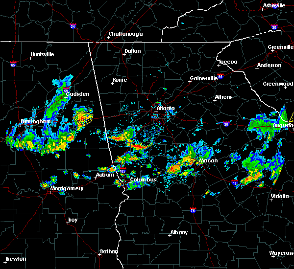 Radar Image for Severe Thunderstorms near Concord, GA at 6/5/2020 3:52 PM EDT