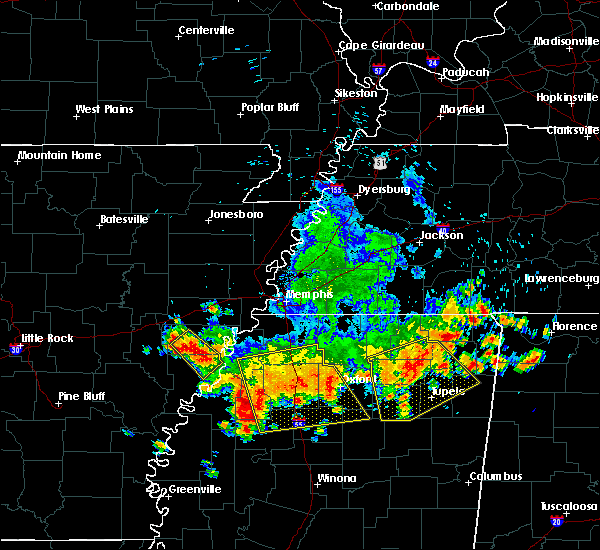 Radar Image for Severe Thunderstorms near Batesville, MS at 6/5/2020 3:07 PM CDT