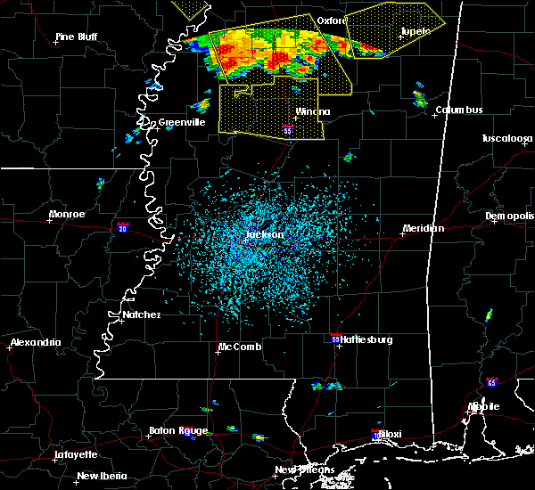 Radar Image for Severe Thunderstorms near Carrollton, MS at 6/5/2020 3:26 PM CDT