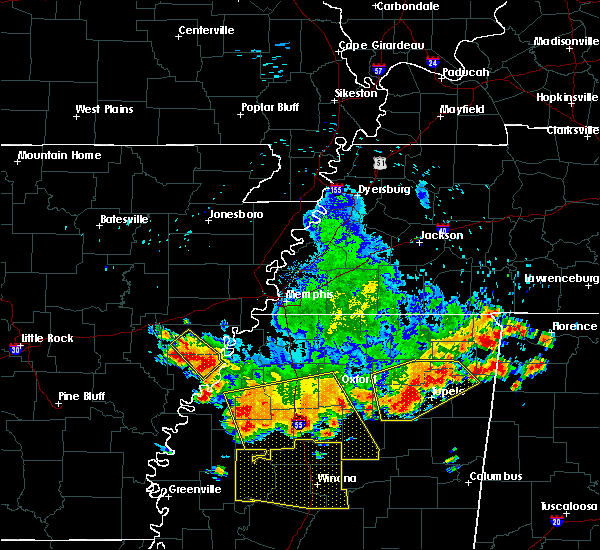 Radar Image for Severe Thunderstorms near Rondo, AR at 6/5/2020 3:27 PM CDT