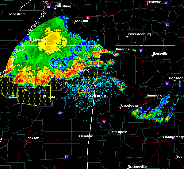 Radar Image for Severe Thunderstorms near Batesville, MS at 6/5/2020 3:36 PM CDT