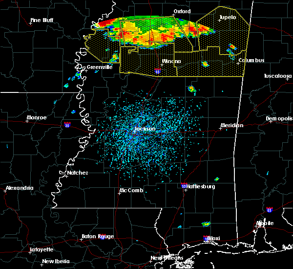 Radar Image for Severe Thunderstorms near Carrollton, MS at 6/5/2020 3:45 PM CDT