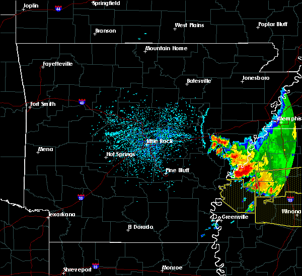 Radar Image for Severe Thunderstorms near Boyle, MS at 6/5/2020 3:50 PM CDT