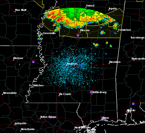 Radar Image for Severe Thunderstorms near Carrollton, MS at 6/5/2020 4:05 PM CDT