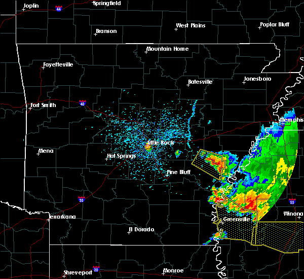 Radar Image for Severe Thunderstorms near Little Rock, AR at 6/5/2020 4:54 PM CDT