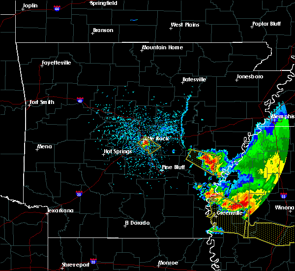 Radar Image for Severe Thunderstorms near Little Rock, AR at 6/5/2020 5:13 PM CDT