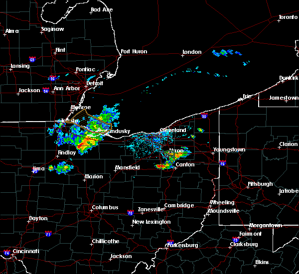 Radar Image for Severe Thunderstorms near Massillon, OH at 6/5/2020 6:21 PM EDT