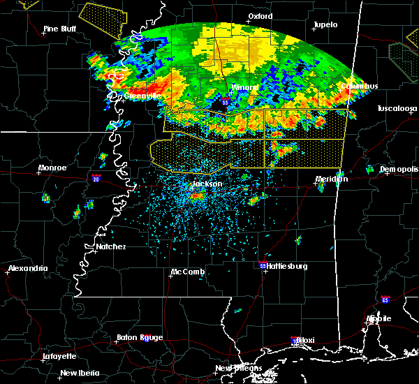 Radar Image for Severe Thunderstorms near Crystal Springs, MS at 6/5/2020 5:28 PM CDT