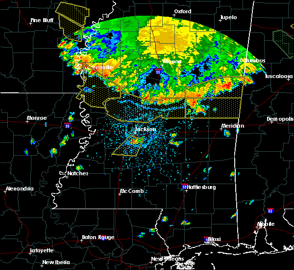 Radar Image for Severe Thunderstorms near Crystal Springs, MS at 6/5/2020 5:41 PM CDT
