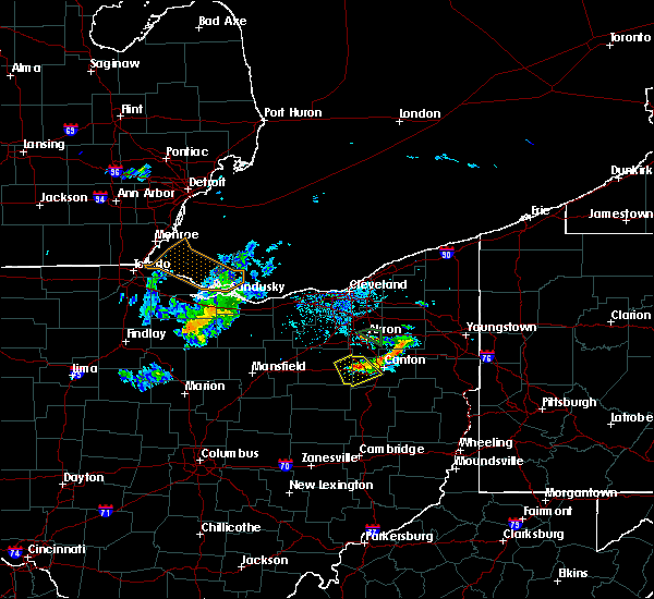 Radar Image for Severe Thunderstorms near Massillon, OH at 6/5/2020 6:43 PM EDT