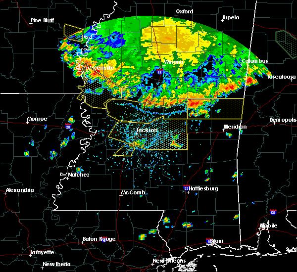Radar Image for Severe Thunderstorms near Flowood, MS at 6/5/2020 5:51 PM CDT