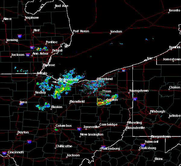 Radar Image for Severe Thunderstorms near Limaville, OH at 6/5/2020 6:58 PM EDT