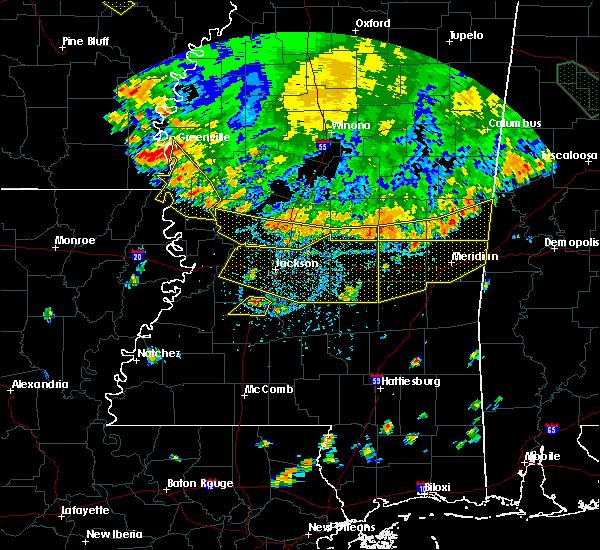 Radar Image for Severe Thunderstorms near Lake Providence, LA at 6/5/2020 6:15 PM CDT