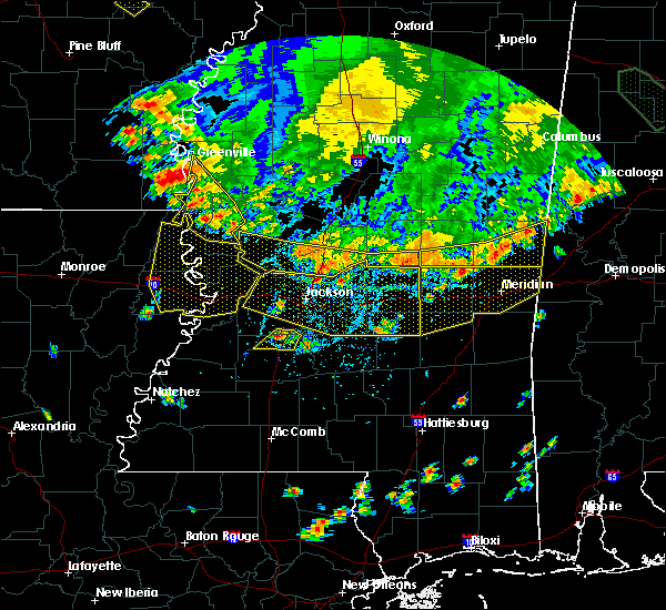 Radar Image for Severe Thunderstorms near Flowood, MS at 6/5/2020 6:18 PM CDT