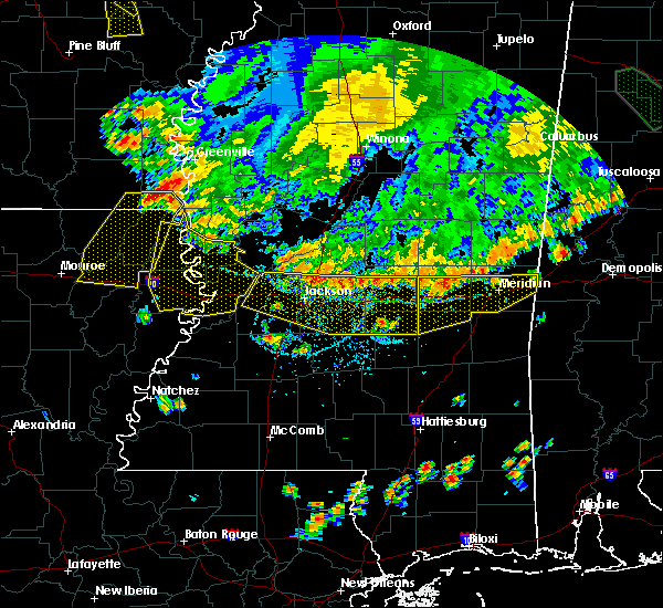 Radar Image for Severe Thunderstorms near Newton, MS at 6/5/2020 6:39 PM CDT