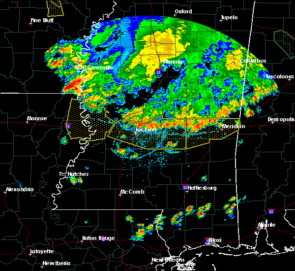 Radar Image for Severe Thunderstorms near Flowood, MS at 6/5/2020 6:37 PM CDT