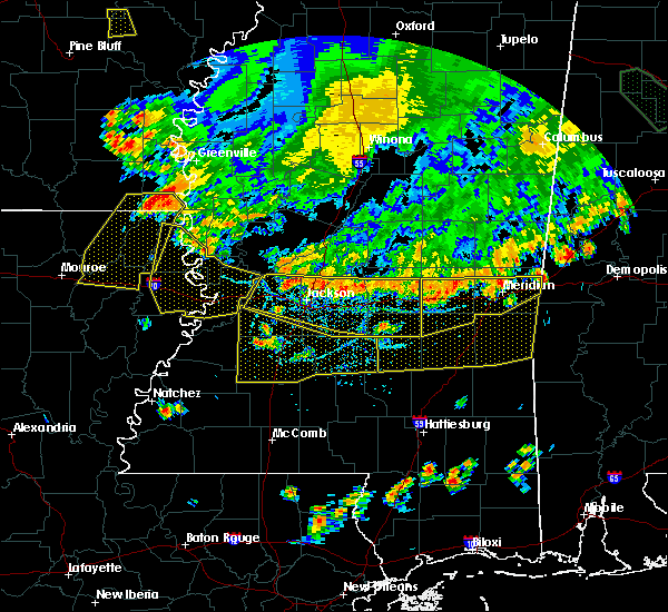 Radar Image for Severe Thunderstorms near Bay Springs, MS at 6/5/2020 6:46 PM CDT