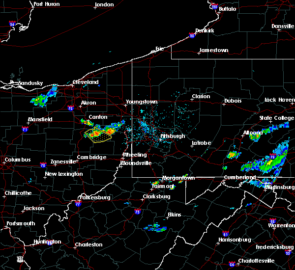Radar Image for Severe Thunderstorms near Carrollton, OH at 6/5/2020 8:09 PM EDT